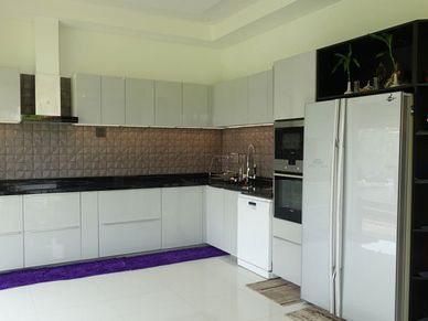 A closer look at this modern kitchen
