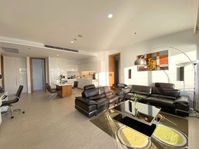 A glimpse across the main living-area
