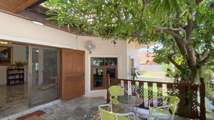 A lovely shaded terrace