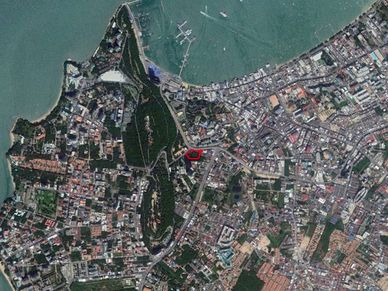 A plot at the very core of South Pattaya - 4 Rai and 75 TW  at best location