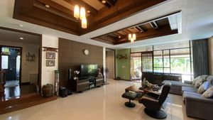 A spacious and airy living-room
