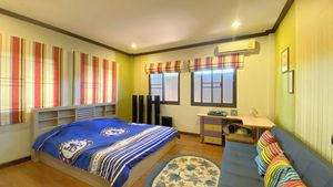 Air conditioned and spacious - the 3 bedrooms