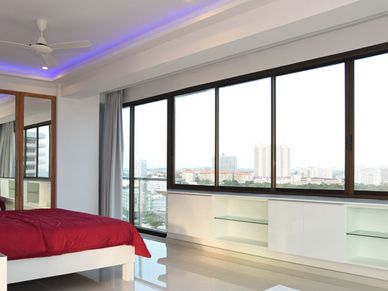 All 3 bedrooms are large and offer gorgeous views