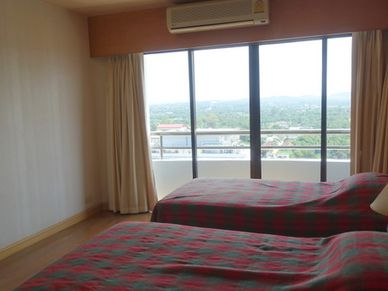All 3 bedrooms enjoy great views - here the smallest one