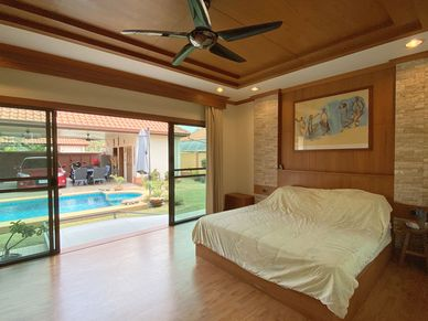 All bedrooms are light and airy