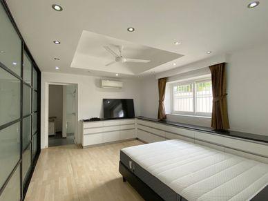 All five bedrooms enjoy views and an en-suite bathroom