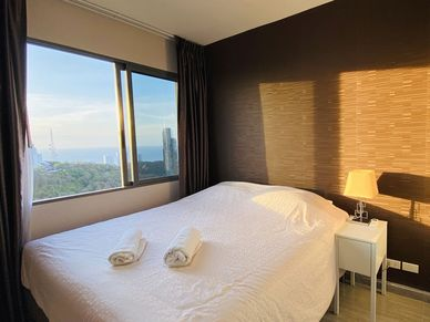 All the rooms enjoy great sea views