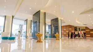 An impressive lobby