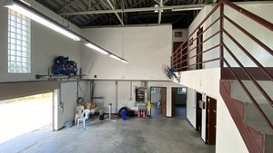 Another angle of the ground-floor warehouse