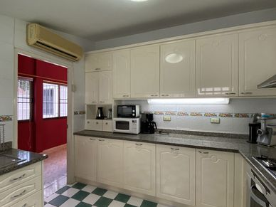 Another angle of the kitchen