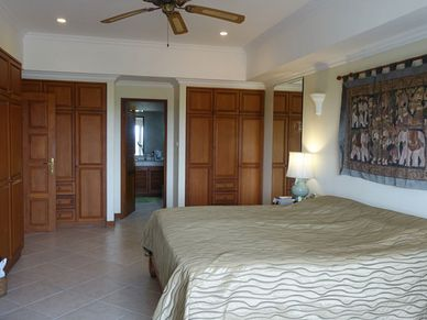 Another angle of the master-bedroom