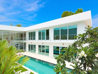 Another angle of this designer villa