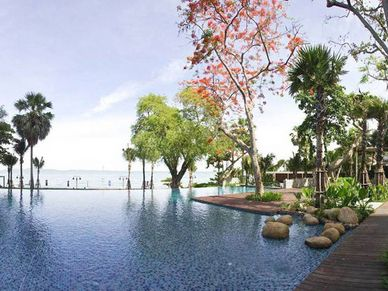 Beautiful pools and gardens
