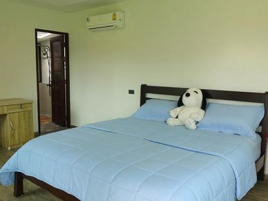 Bedroom at the 2nd Guest-bungalow