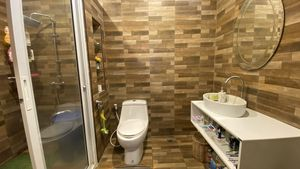Both bathrooms are modern and spacious