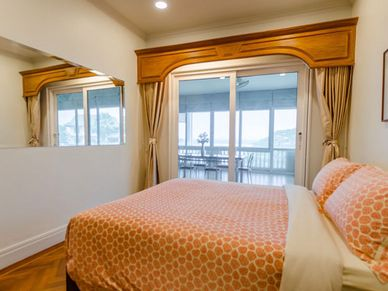 Both bedrooms offer nice views