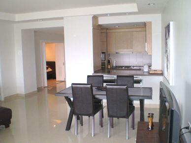 The condos dining-area