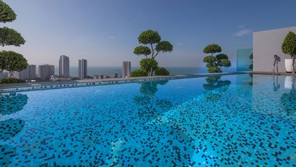Your private pool in the Sky