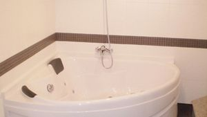The Jacuzzi tub