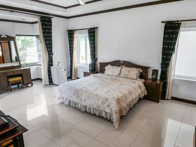 More like a suite - one of the modern bedrooms