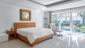 Most of the bedrooms are very large and offer lovely outdoor views
