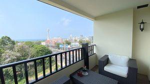 Nice lounge seating on the balcony