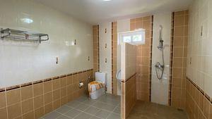 One bathroom on the ground-floor