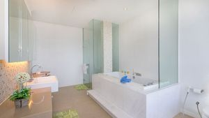 One of a five bathrooms