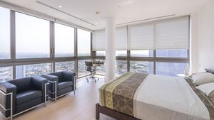 One of four top modern bedrooms, all with gorgeous views