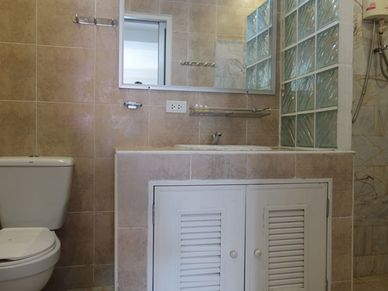 One of many bathrooms