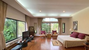 One of the large, beautiful upstair bedrooms