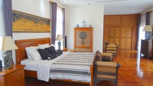 One of the upstairs bedroom suites