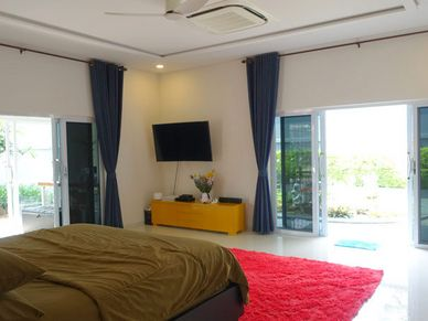 Part of the master-bedroom