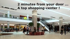 Plenty of shopping and entertainment is a short walk from the house