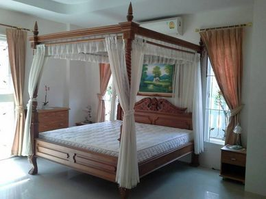 Real cosy - the master-bedroom