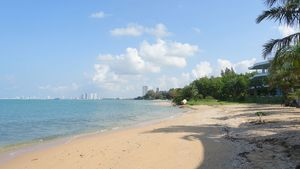 Right at your doorsteps - a pristine beach