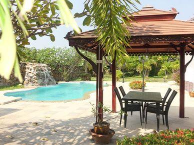 Sala and pool-area