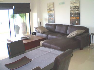 The living-rooms sofa area