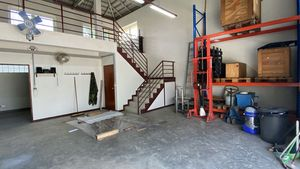 Stairs to the 2nd mezzanine floor