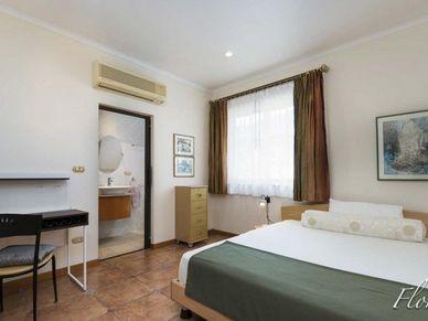 The 2nd bedroom - with its en-suite bathroom