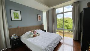 The 2nd upstairs bedroom with lovely views