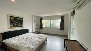 The bedrooms are spacious and nicely furnished