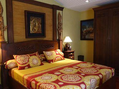 The estates master-bedroom