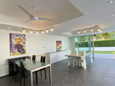 The granny flats dining area