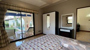 The ground-floor bedroom