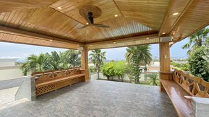 The large Sala with lovely views and constant breezes