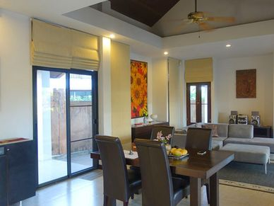 The living- and dining-area