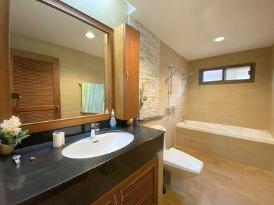 The master-bathroom