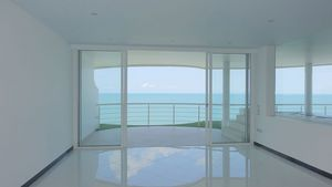 The master-bedroom with it`s own balcony and access to the outdoor pool