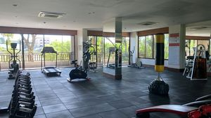 The projects generous gym